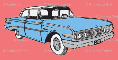 Big 1960Ranger in light blue