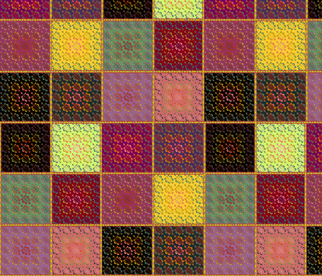 © 2011 Quilt Pattern Number 2 fabric by glimmericks on Spoonflower - custom fabric