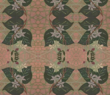 garden leaf fabric by raasma on Spoonflower - custom fabric