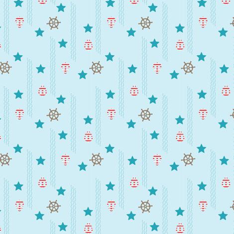 LaraGeorgine_Nautical_1 fabric by larageorgine on Spoonflower - custom fabric