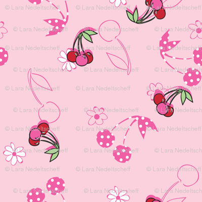 LaraGeorgine_Polka_Dot_Cherries
