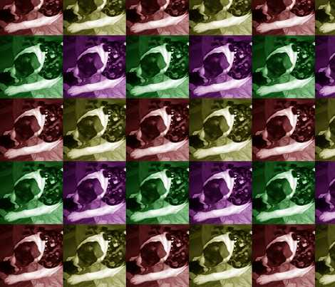 Inspired by Warhol fabric by shanleen2 on Spoonflower - custom fabric