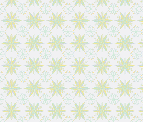 © 2011 Nordic Easter fabric by glimmericks on Spoonflower - custom fabric