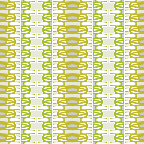 Danish Modern stripe WIDE fabric by joanmclemore on Spoonflower - custom fabric