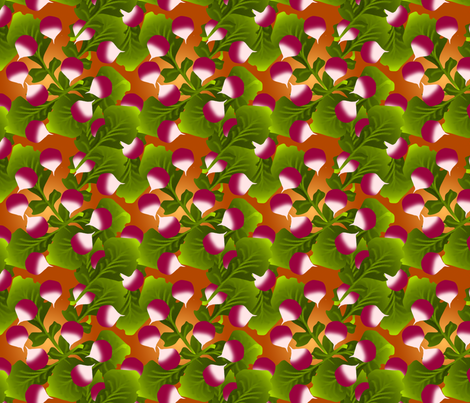 I-spy radish fabric by kaeledra on Spoonflower - custom fabric
