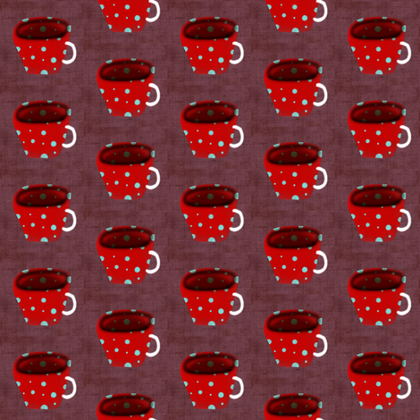 tea cup fabric fabric by rupydetequila on Spoonflower - custom fabric