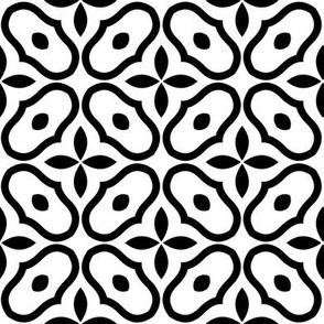 Mosaic - White and Black