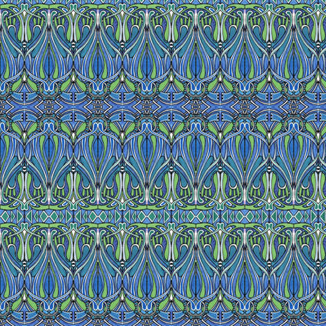 Beardsley's Legacy fabric by edsel2084 on Spoonflower - custom fabric