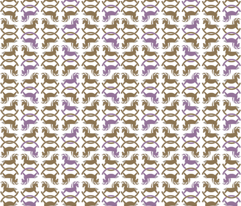 Look, mama, horsies!!! fabric by newmomdesigns on Spoonflower - custom fabric