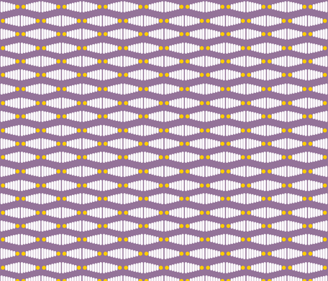 Stacking Rings - Purple fabric by newmomdesigns on Spoonflower - custom fabric