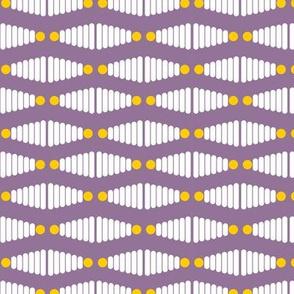 Stacking Rings - Purple