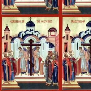 Exaltation of the Holy Cross icon
