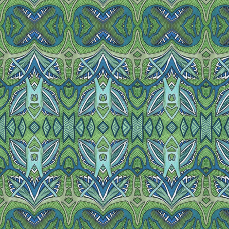 Spring Sprouts fabric by edsel2084 on Spoonflower - custom fabric