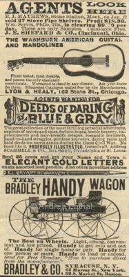 Deeds of Daring Blue & Gray