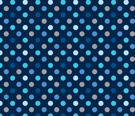 pois_mutilco_bleu fabric by nadja_petremand on Spoonflower - custom fabric