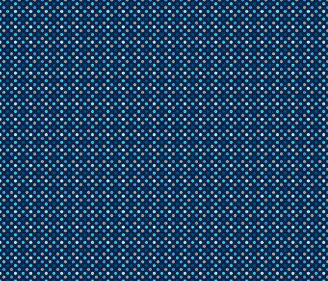 pois_mutilco_bleu_S fabric by nadja_petremand on Spoonflower - custom fabric