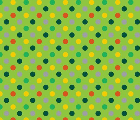 pois_mutico_vert fabric by nadja_petremand on Spoonflower - custom fabric