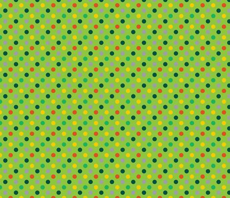 pois_mutico_vert_M fabric by nadja_petremand on Spoonflower - custom fabric