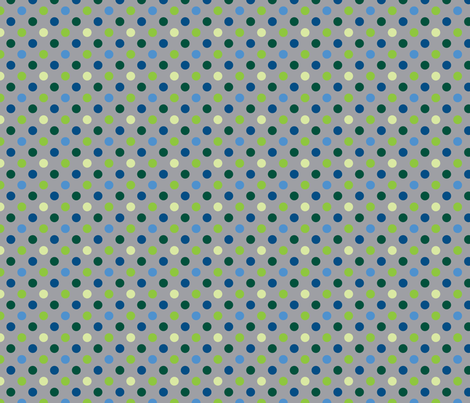 pois_multico_gris_M fabric by nadja_petremand on Spoonflower - custom fabric