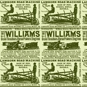 Horse Powers and Engines 1880's farm advertisement