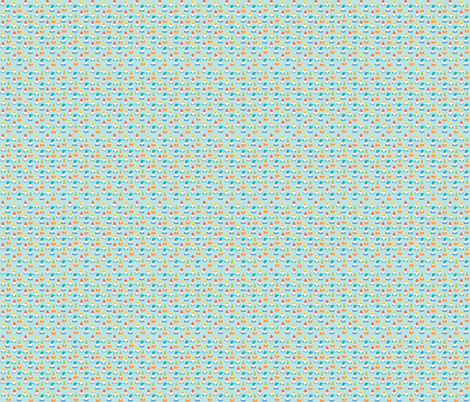 color gnomes fabric by littledear on Spoonflower - custom fabric
