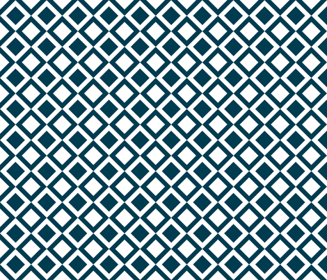 navy checkers fabric by amybethunephotography on Spoonflower - custom fabric