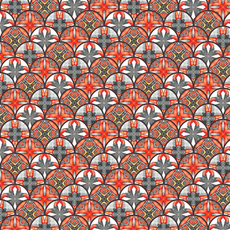 Chiral's Disks fabric by siya on Spoonflower - custom fabric