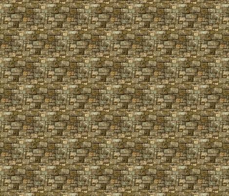 Castle Wall fabric by cricketswool on Spoonflower - custom fabric