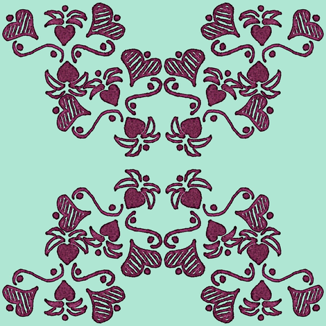 Love Bears Fruit fabric by nalo_hopkinson on Spoonflower - custom fabric
