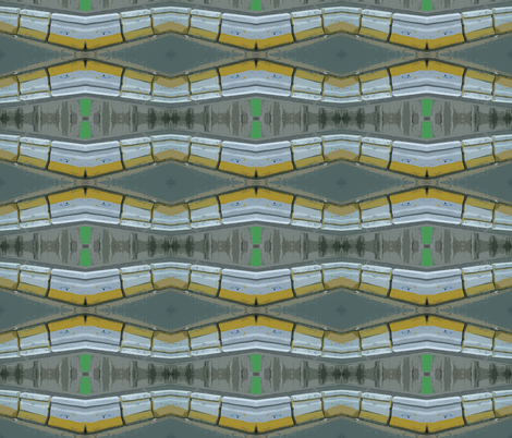 Highway Construction fabric by susaninparis on Spoonflower - custom fabric