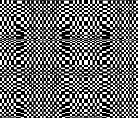 black_and_white_squares_2 fabric by mollymoo on Spoonflower - custom fabric