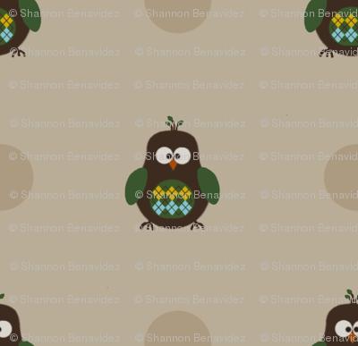 Argyle Owl
