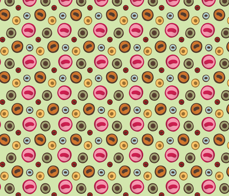 Taxidermy Eyes fabric by jordan_elise on Spoonflower - custom fabric
