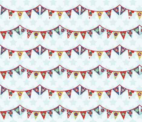 fanion_d_étoile_S fabric by nadja_petremand on Spoonflower - custom fabric