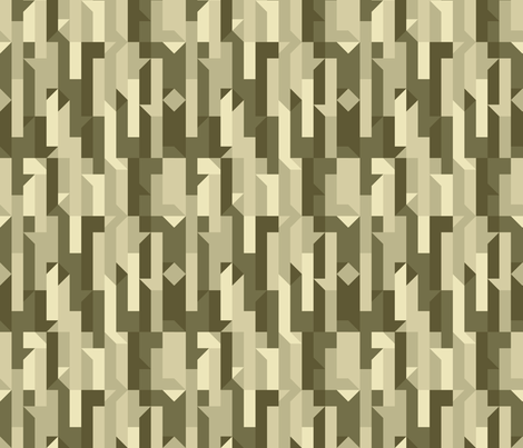 Puzzled fabric by noaleco on Spoonflower - custom fabric