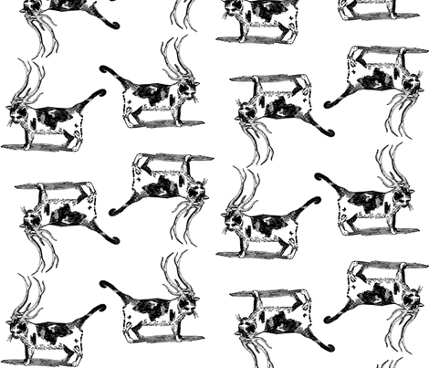 catalope fabric by trollop on Spoonflower - custom fabric