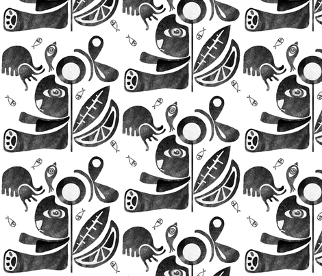 Mexican sweet stone fabric by rupydetequila on Spoonflower - custom fabric