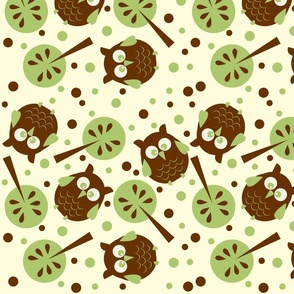 Owl Forest Cream from the Owl Luhv Collection