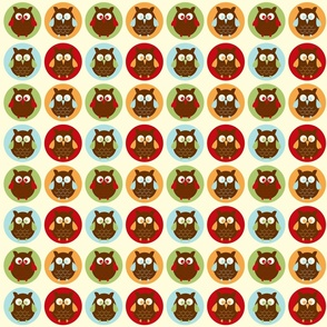 Owl Parade from the Owl Luhv Collection