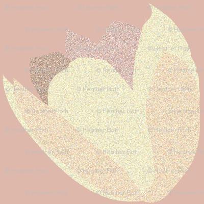 POINTALLISM TULIP cream