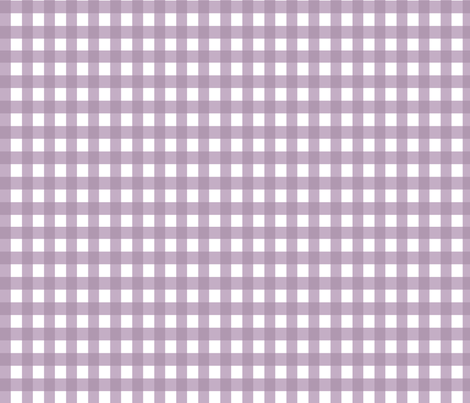 Purple gingham fabric fabric by rupydetequila on Spoonflower - custom fabric