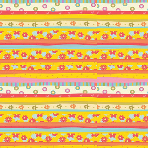 Scatter Stripes: Version B