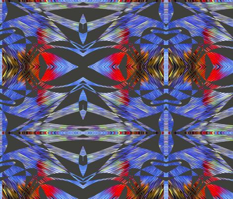 diamond quills fabric by jellybeanquilter on Spoonflower - custom fabric