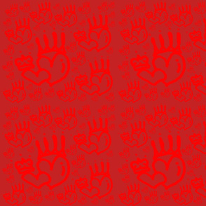 Dark Queen Heart (red x red)