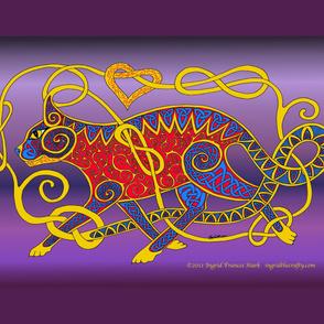 celtic cat 15d Banner