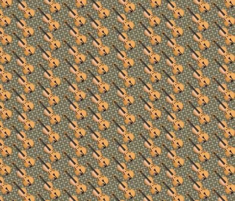 © 2011  VIOLIN - Butternut Driftwood fabric by glimmericks on Spoonflower - custom fabric