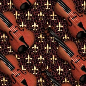 © 2011  VIOLIN - Regal Red Leopard