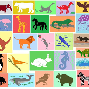 Alphabet Mascots