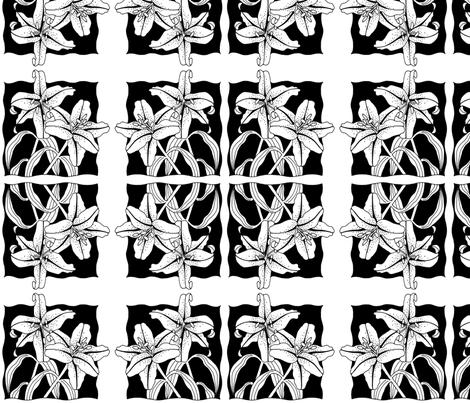 lily fabric by photojo on Spoonflower - custom fabric