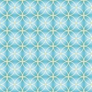 Aqua Blue Circles